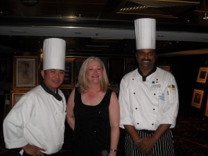 Chefs and Judy at the Enchanted Dinner