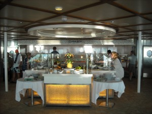 Oasis of the Seas Solarium Bistro