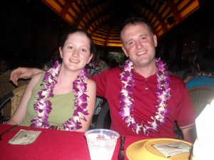 Our kids, Rachel, 17 and Eric, 28